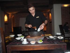 Baan Dhalia Table Cooking