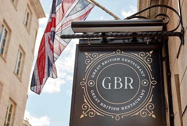 GBR Restaurant, London
