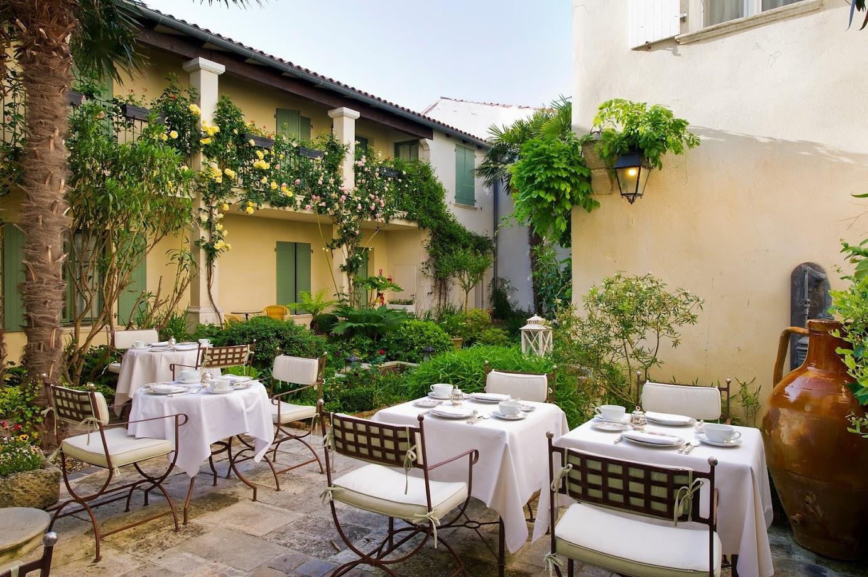 Grifco Visits La Table d'Olivia at L'Hôtel de Toiras, St Martin de Ré