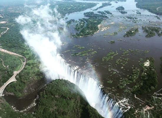 A Postcard From… Victoria Falls, Zimbabwe
