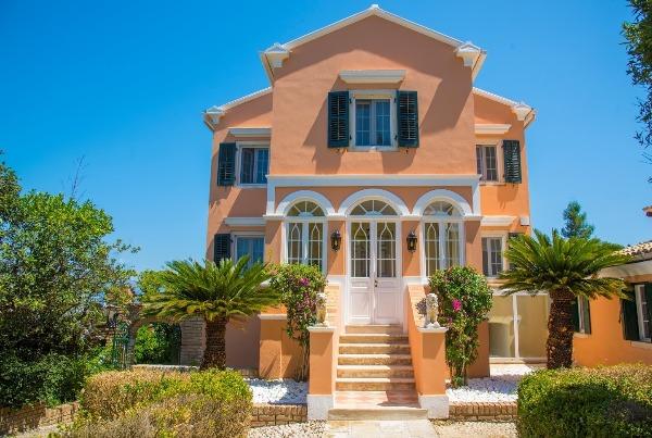 Villa 1870, Corfu
