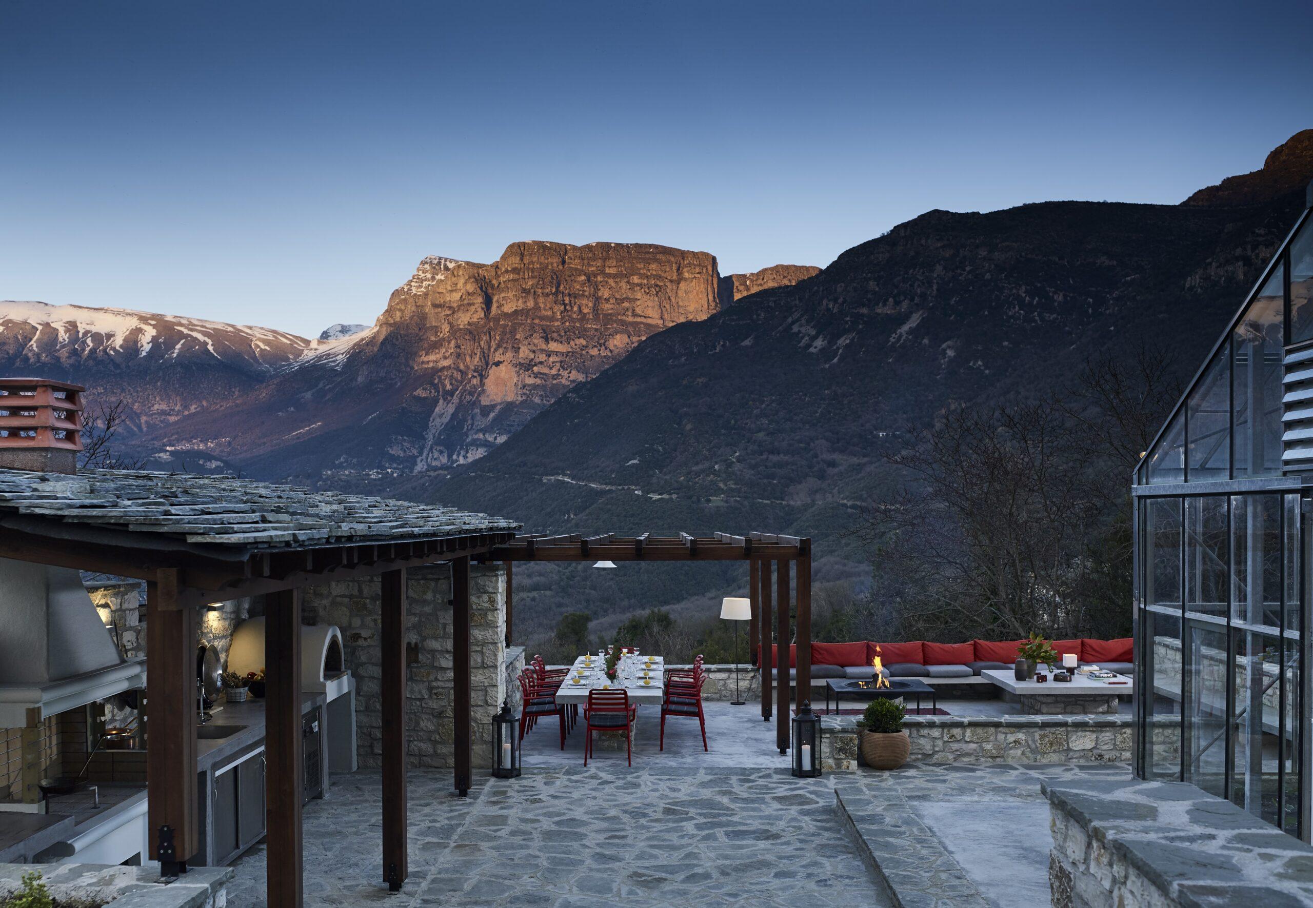 Aristi Mountain Resort & Villas, Greece